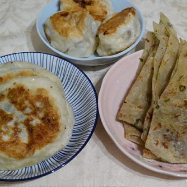 台北市 餐飲 夜市攤販小吃 無名水煎包.蔥油餅.韭菜盒子