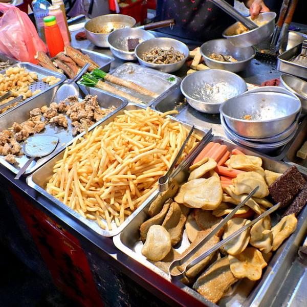 台南市 餐飲 夜市攤販小吃 果菜市場無名鹹酥雞