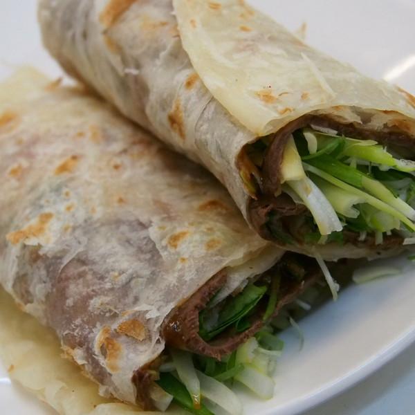 台北市 美食 餐廳 中式料理 麵食點心 種福園斤餅牛肉麵店