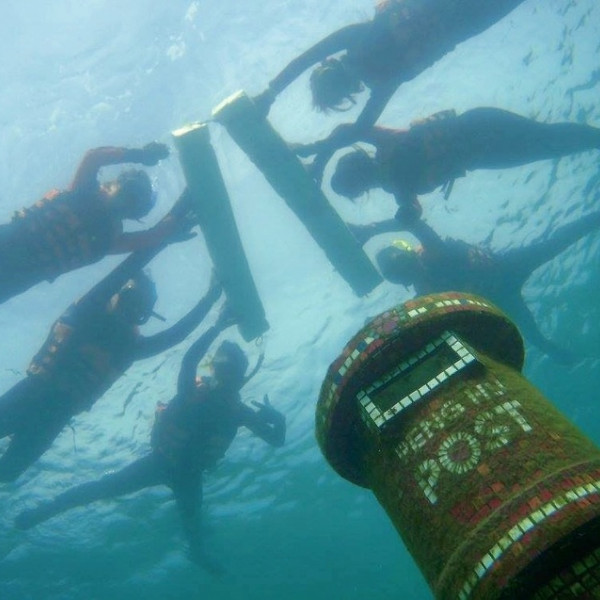 澎湖縣 觀光 觀光景點 海底郵筒