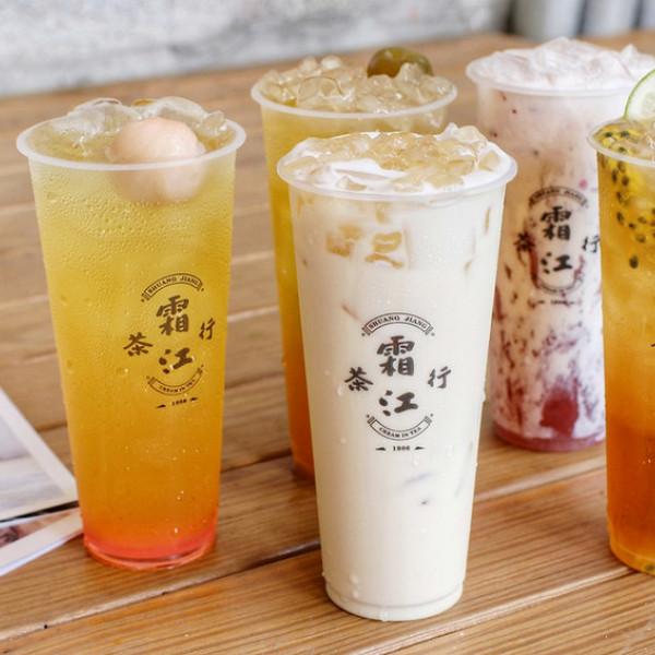 台中市 餐飲 飲料‧甜點 飲料‧手搖飲 霜江茶行 審計新村店