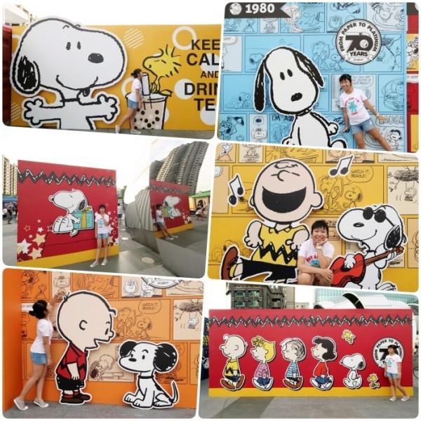 台中市 觀光 觀光景點 史努比Snoopy出沒台中 | 70週年巡迴特展免費入場!巨型打卡牆,超大扭蛋機、限量商品X飲品、還有夜間燈光秀,史努比鐵粉快過來!!!