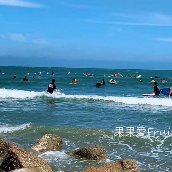 台中市 觀光 觀光景點 松柏港北堤沙灘