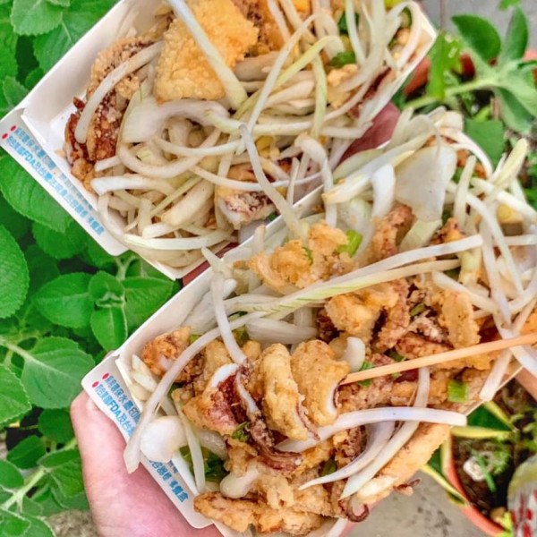 台南市 餐飲 夜市攤販小吃 金村爆炸大魷魚
