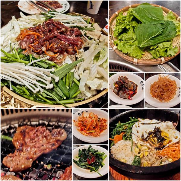 台北市 美食 餐廳 異國料理 韓式料理 雪嶽山(美麗華)