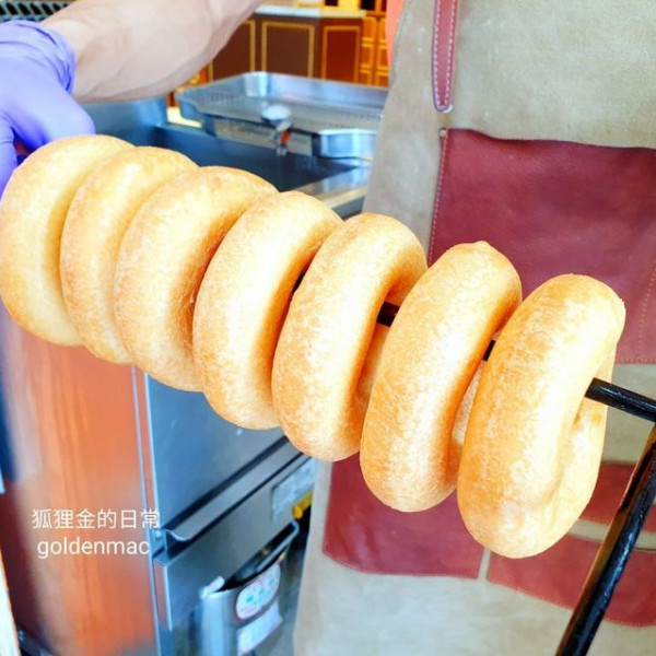 台中市 餐飲 夜市攤販小吃 呼嚕呼嚕小米甜甜圈 逢甲店