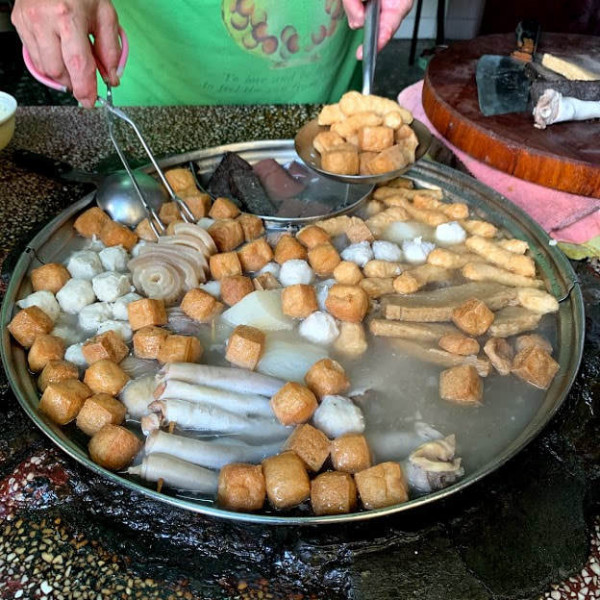 基隆市 餐飲 夜市攤販小吃 無名關東煮