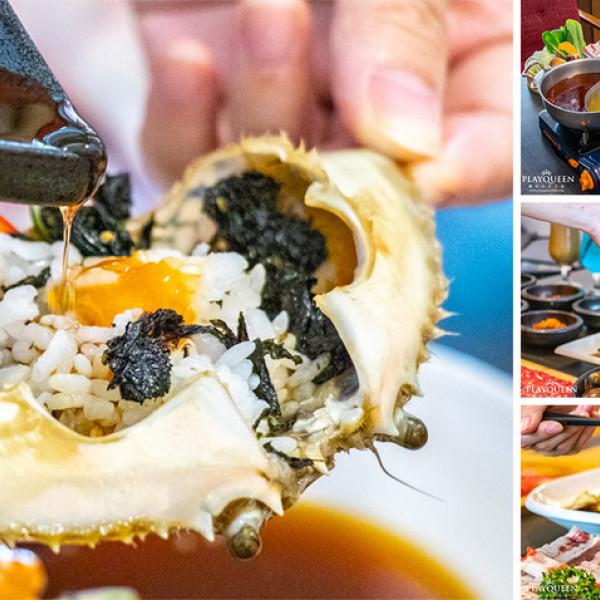 台中市 餐飲 鍋物 火鍋 蝦拼鍋 & 韓國醬油螃蟹