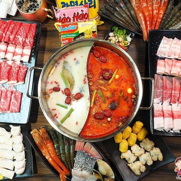 桃園市 餐飲 吃到飽 巴適經典麻辣火鍋林口店