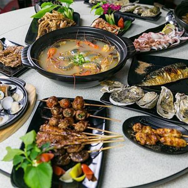 桃園市 餐飲 燒烤‧鐵板燒 烤貝烤牡燒烤店