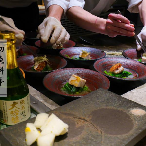台北市 餐飲 燒烤‧鐵板燒 鐵板燒 初魚鐵板燒 安和店