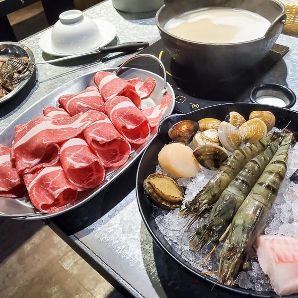 台北市 餐飲 鍋物 火鍋 肉普普石頭涮涮鍋