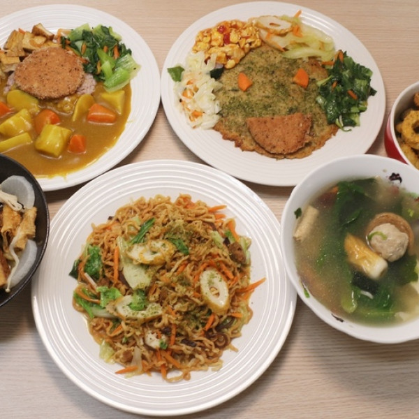 台南市 餐飲 素食料理 蔬食料理 方圓蔬食