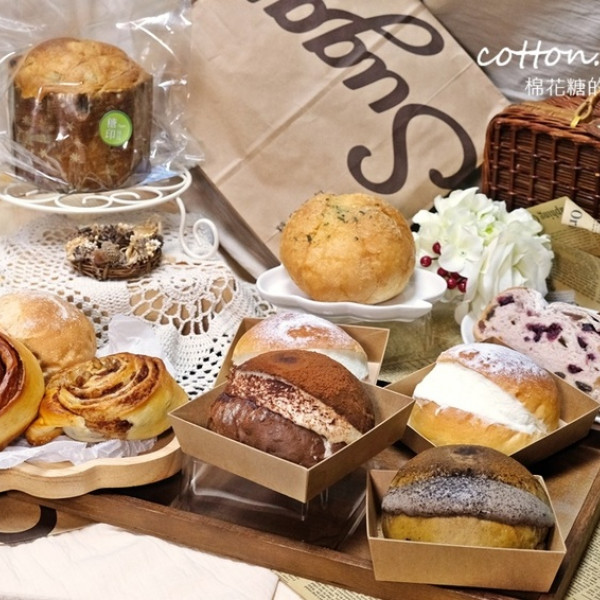 台中市 餐飲 糕點麵包 糖印麵包