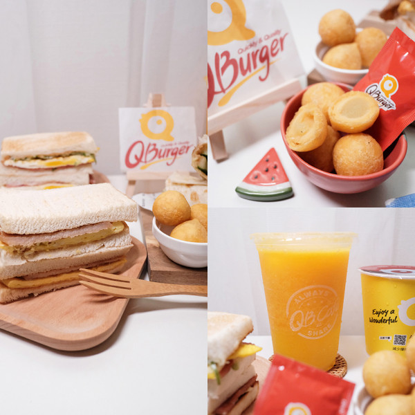 台北市 餐飲 早.午餐、宵夜 早午餐 Q Burger 松山民生店