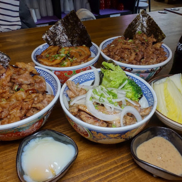 苗栗縣 餐飲 日式料理 丼飯‧定食 牛丁次郎坊X頭份中華支店