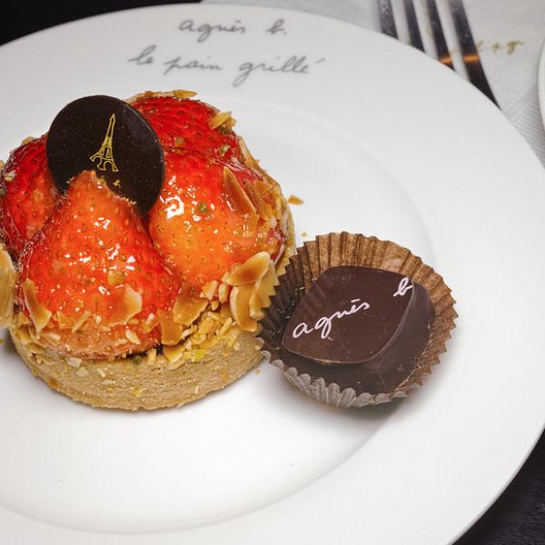 台北市 美食 餐廳 烘焙 蛋糕西點 agnès b. café L.P.G. (新光三越南京二店)