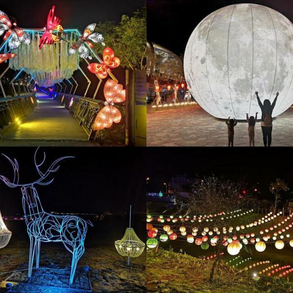 宜蘭縣 觀光 觀光景點 冬山舊河道港燈節