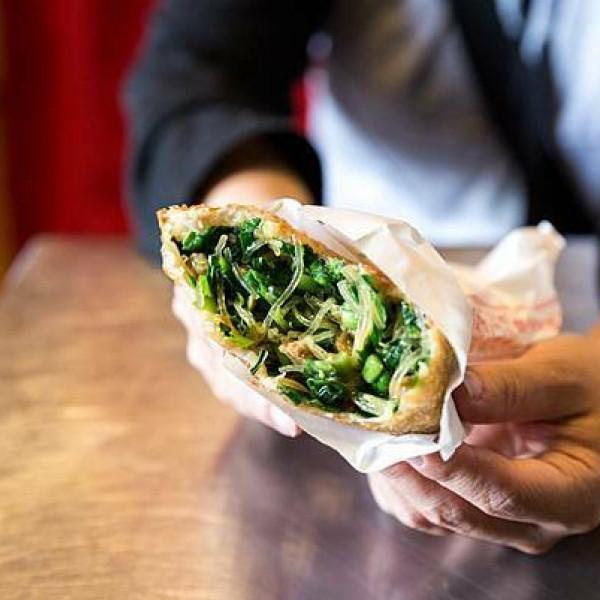 桃園市 餐飲 麵食點心 韮派呷葱油餅.韭菜盒
