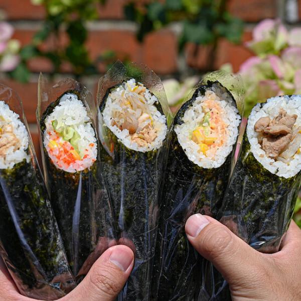 台中市 餐飲 夜市攤販小吃 明洞海苔飯捲명동김밥 -一中店
