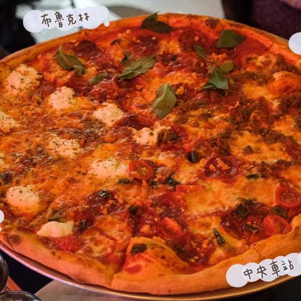 台北市 餐飲 美式料理 Little New York Pizzeria 小紐約 中山