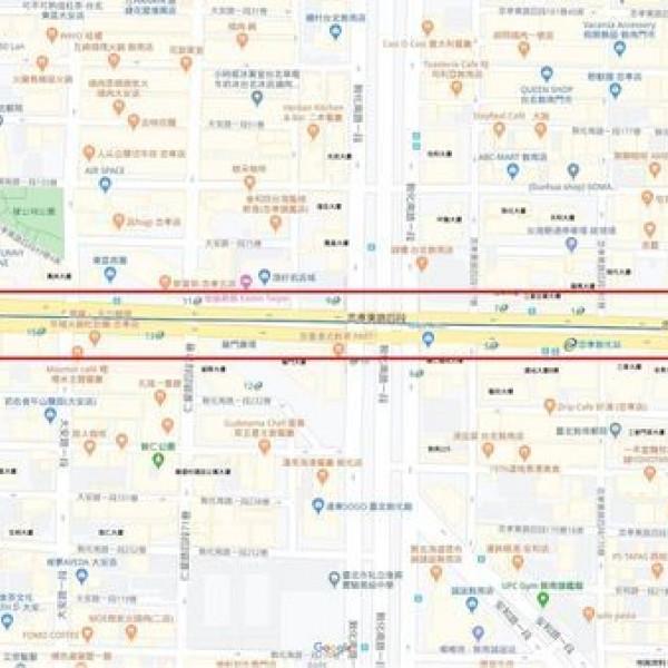 台北市 觀光 觀光景點 東區街頭