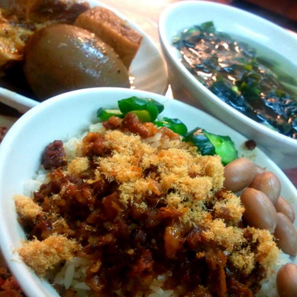 台北市 美食 攤販 台式小吃 萬香齋台南米糕