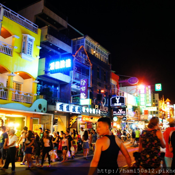 屏東縣 休閒旅遊 景點 觀光商圈市集 墾丁大街