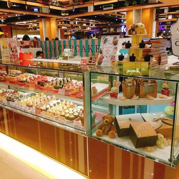 新北市 美食 餐廳 烘焙 蛋糕西點 克勞蒂杯子蛋糕 CLOUDY CUPCAKE(板橋大遠百)