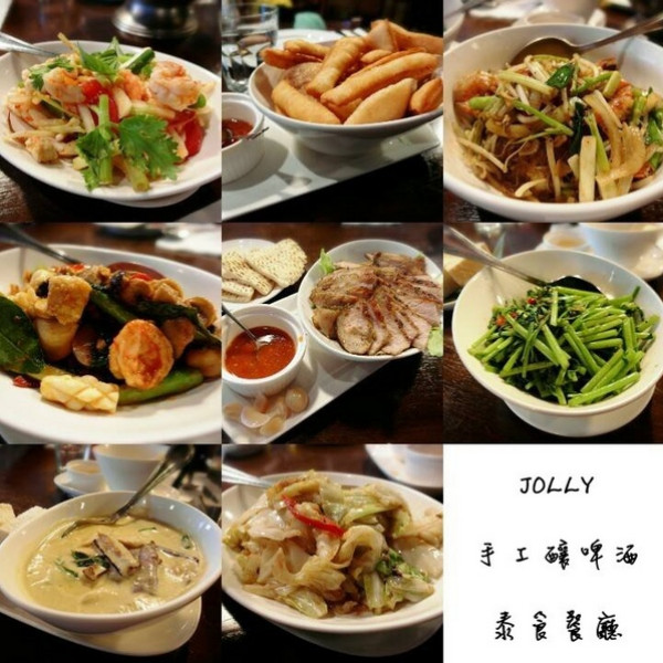 台北市 美食 餐廳 異國料理 泰式料理 Jolly手工釀啤酒泰食餐廳 (慶城店)