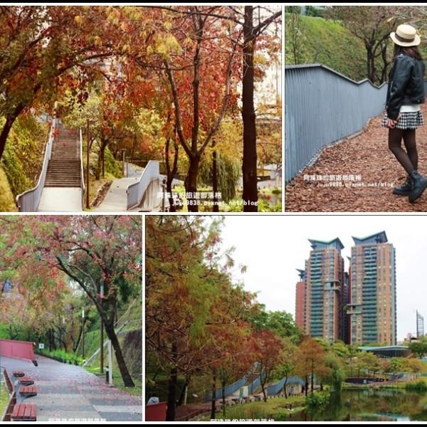 台中市 觀光 公園 秋紅谷生態廣場