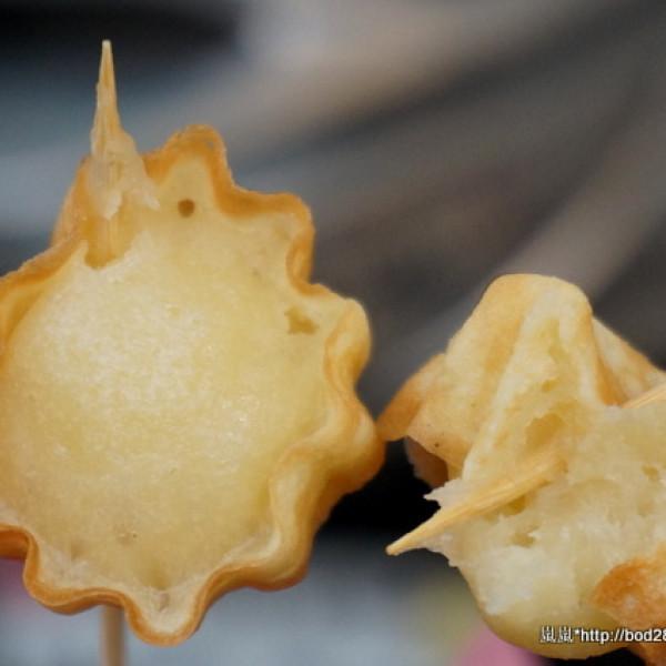 宜蘭縣 餐飲 夜市攤販小吃 平胸妹 50年代古早味 脆皮雞蛋糕