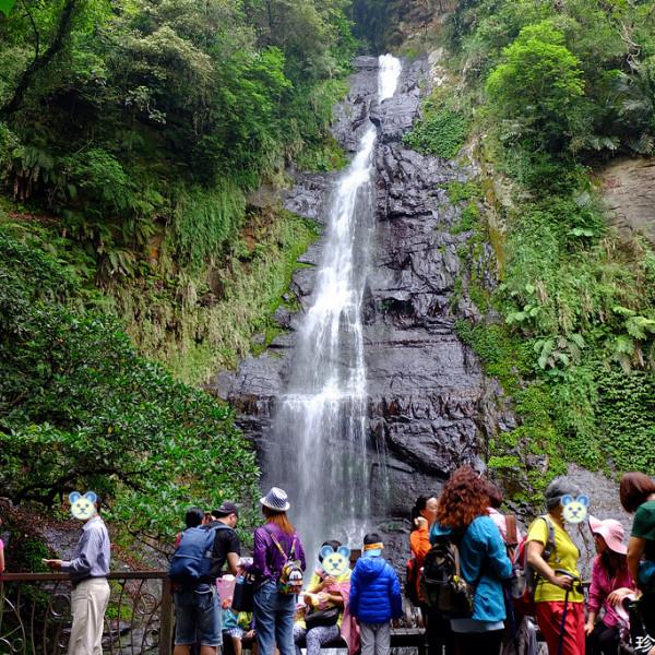 宜蘭縣 休閒旅遊 景點 森林遊樂區 五峰旗瀑布