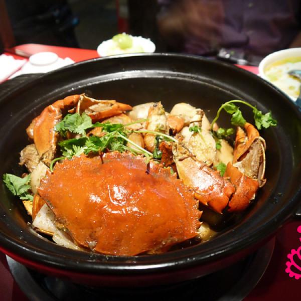 台北市 美食 餐廳 中式料理 川菜 过海香辣蟹