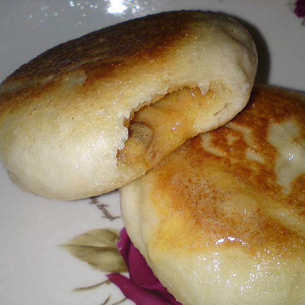 桃園市 美食 攤販 台式小吃 中原夜市 很普通水煎包 煎包