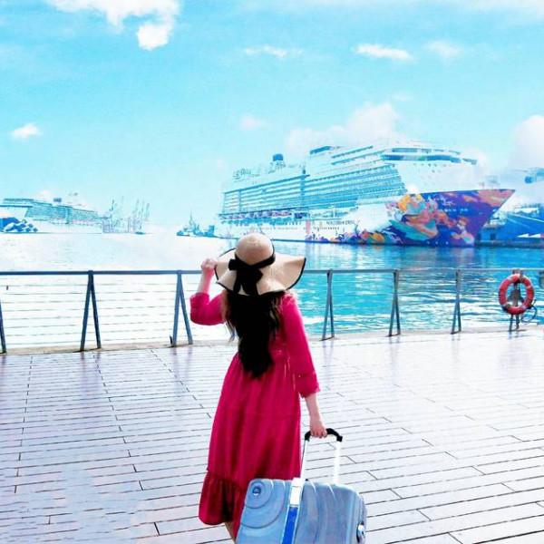 基隆市 休閒旅遊 景點 海邊港口 基隆港│繽紛七彩鴛鴦 嬌豔登場