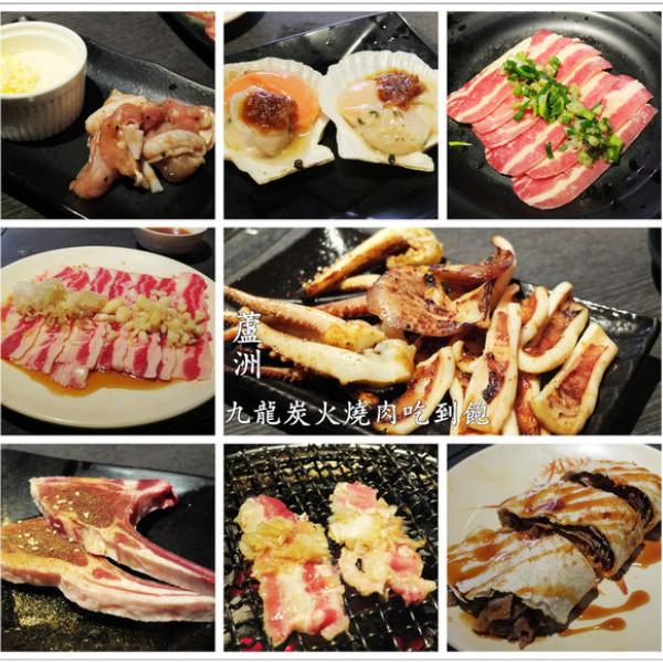 新北市 美食 餐廳 火鍋 火烤兩吃 九龍炭火燒肉海鮮火鍋