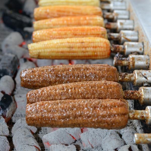 台中市 美食 攤販 攤販燒烤 大甲黑石頭玉米