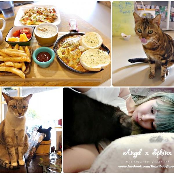 台中市 美食 餐廳 咖啡、茶 咖啡館 貓爪子咖啡 Cat's Claw Brunch & Cafe'