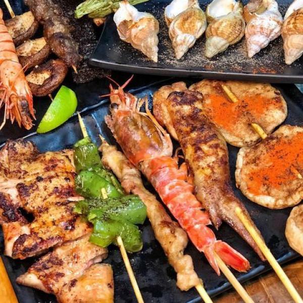 台北市 餐飲 燒烤‧鐵板燒 燒肉燒烤 柒串燒屋