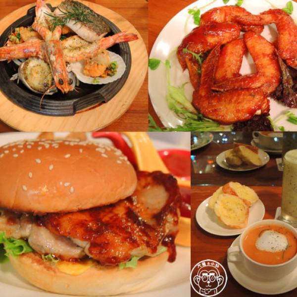 新北市 美食 餐廳 異國料理 義式料理 藝廊景觀酒食館Sky Gallery