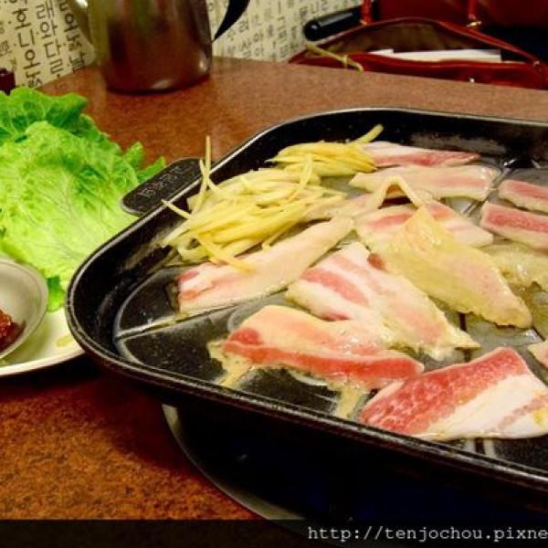 台北市 美食 餐廳 異國料理 韓式料理 韓國媽媽烤肉店