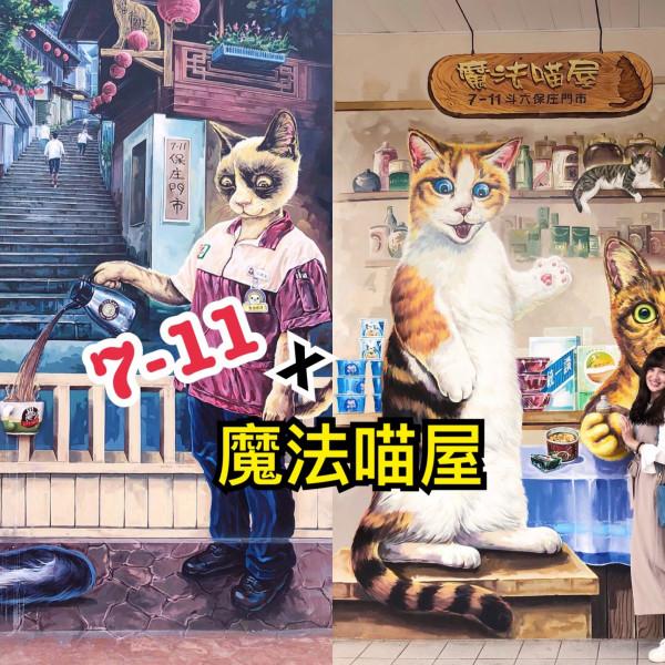 雲林縣 購物 便利商店 7-11保庄門市魔法貓屋