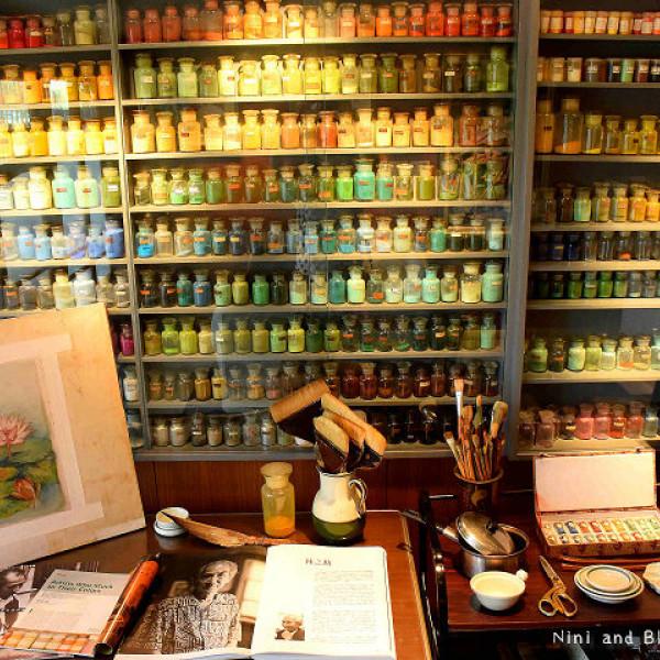 台中市 觀光 觀光景點 林之助膠彩畫紀念館
