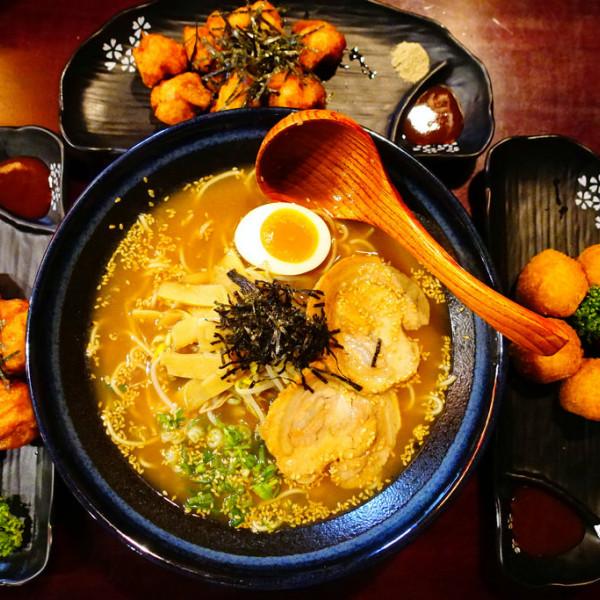 新北市 美食 餐廳 異國料理 日式料理 花麵丸ラーメン