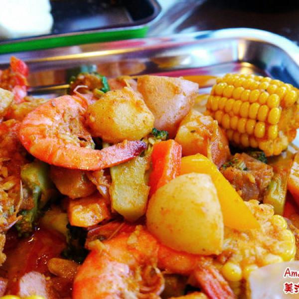 台中市 餐飲 美式料理 Amazing Amy 美式麻辣海鮮