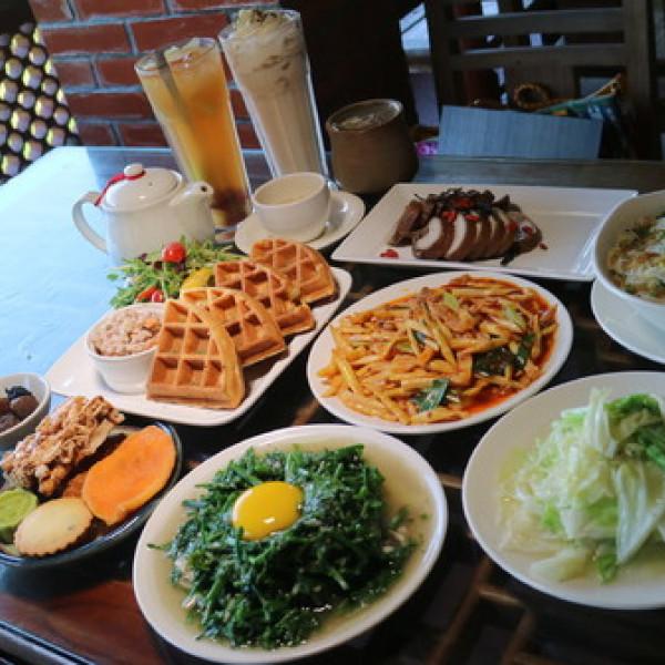 台北市 美食 餐廳 中式料理 台菜 紅木屋 Caf'e Waffles