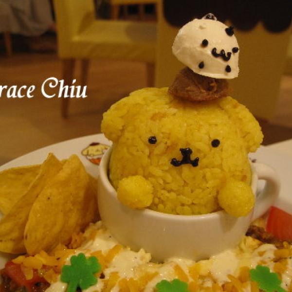 台北市 餐飲 日式料理 布丁狗主題餐廳 POMPOMPURIN Cafe