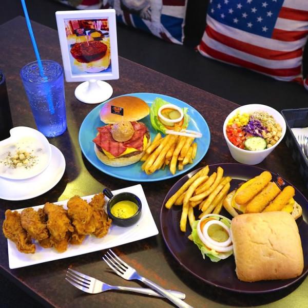 台南市 美食 餐廳 異國料理 美式料理 Angry Burger美式餐廳