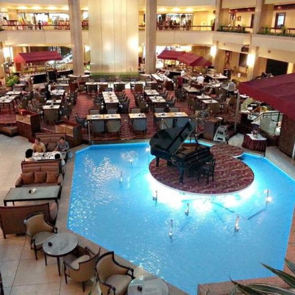 台北市 美食 餐廳 異國料理 多國料理 台北福華飯店 彩虹座